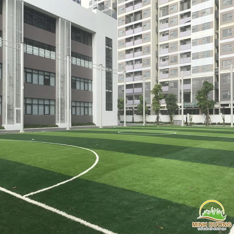 Quy trình thi công cỏ nhân tạo làm sân bóng đá chuẩn 3